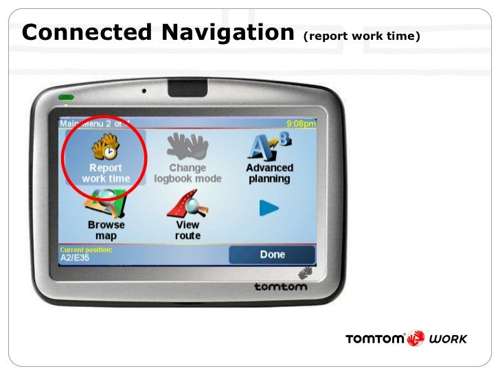 Connected Navigation  (report work time)