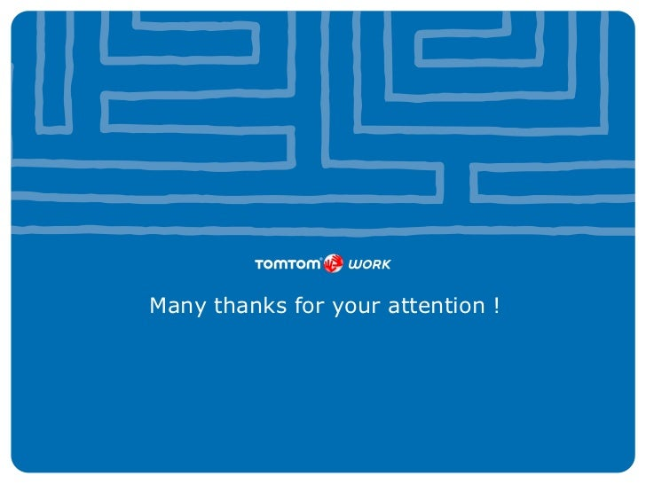 Many thanks for your attention !