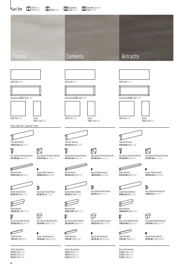 Tonalite Catalogo Generale 2015 Tiles Piastrelle Carreaux