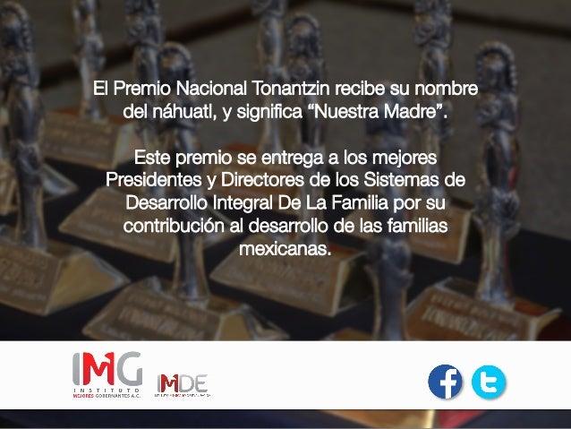 Premio Nacional Tonantzin 2015 Slide 2