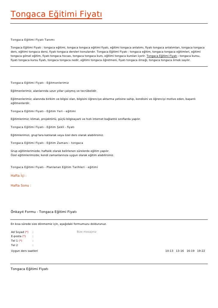 Tongaca Eğitimi FiyatıTongaca Eğitimi Fiyatı TanımıTongaca Eğitimi Fiyatı : tongaca eğitimi, tongaca tongaca eğitimi fiyat...