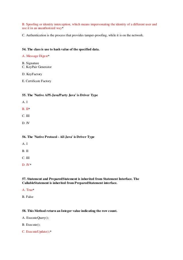 Quiz test jdbc 19 yelopaper Image collections