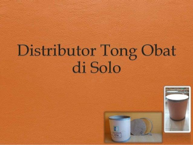 Tong Bekas Obat