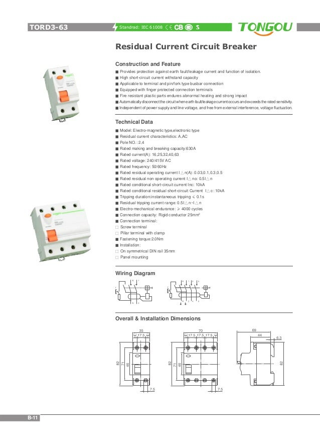 Tongou Electrical Catalogue