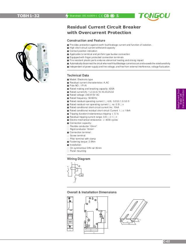 tongou electrical catalogue rh slideshare net 2-Way Switch Wiring Diagram Double Switch Wiring Diagram