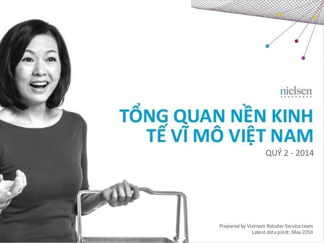 TỔNG QUAN NỀN KINH TẾ VĨ MÔ VIỆT NAM  QUÝ 2 - 2014  Prepared by Vietnam Retailer Service team  Latest data point: May 2014