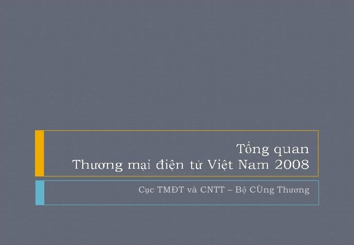 Cục TMĐT và CNTT – Bộ Công Thương