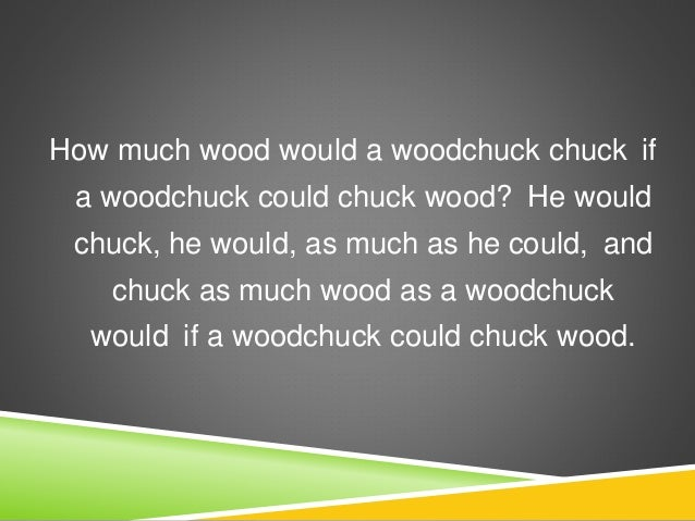 Woodchuck | WoodCrafts