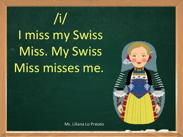 Image result for i love the swiss my swiss miss misses me