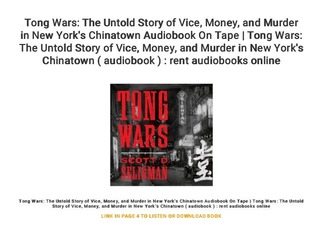 b470388d25aa0 Tong Wars  The Untold Story of Vice... Money... and Murder in New Yor…