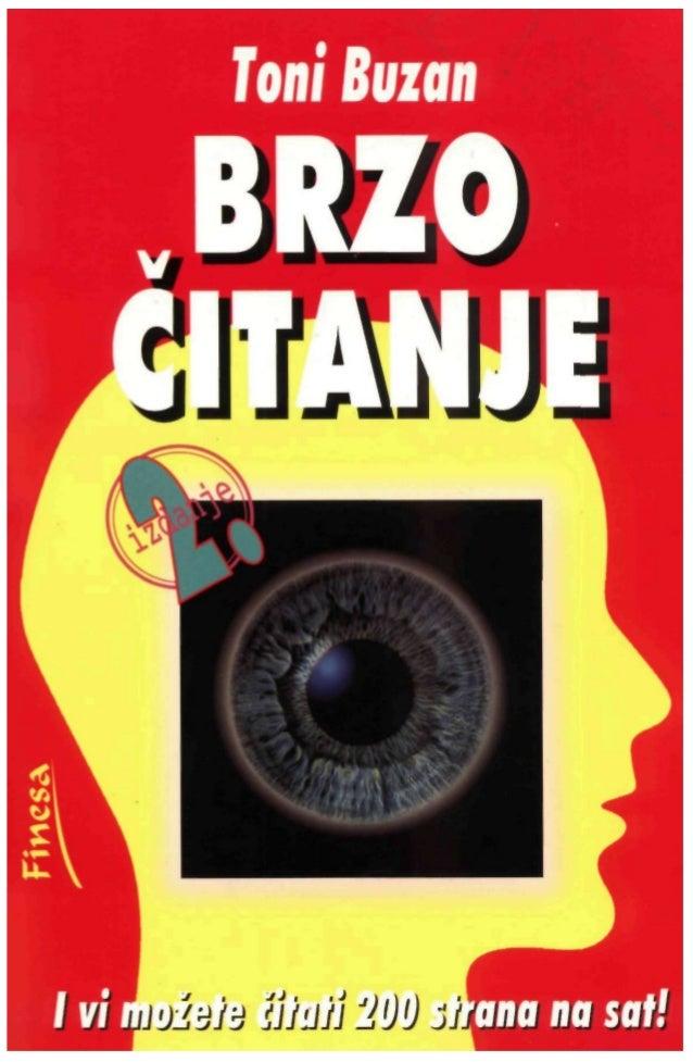 TONIBUZAN V BRZO ČITANJE // izdanje Beograd, 2000