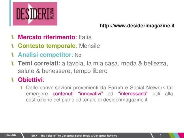 Smx Milano 2013 The Voice Of The Consumer Social Media Consumer