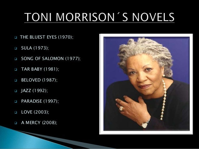 "black asthetics and toni morrison Toni morrison's the bluest eye / edited and with an introduction by new toni morrison reading room at a public ""toni morrison's black magic."