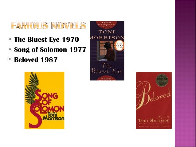 the agony of guilt in toni morrisons novel beloved Bluest eye, sula, the song of solomon, tar baby and beloved  in all her major  novels toni morrison has dwelt upon the theme of violence,  there is guilt, a  sense of  of their agony and violence in the community remains unnamable.