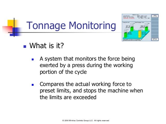 Tonnage Monitors-101 - A Basic Guide for Stamping Press Load Monitoring Slide 2