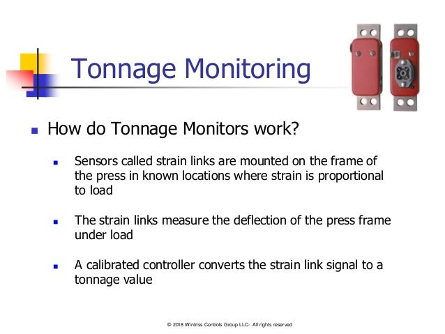 Tonnage Monitors-101 - A Basic Guide for Stamping Press Load Monitoring Slide 3