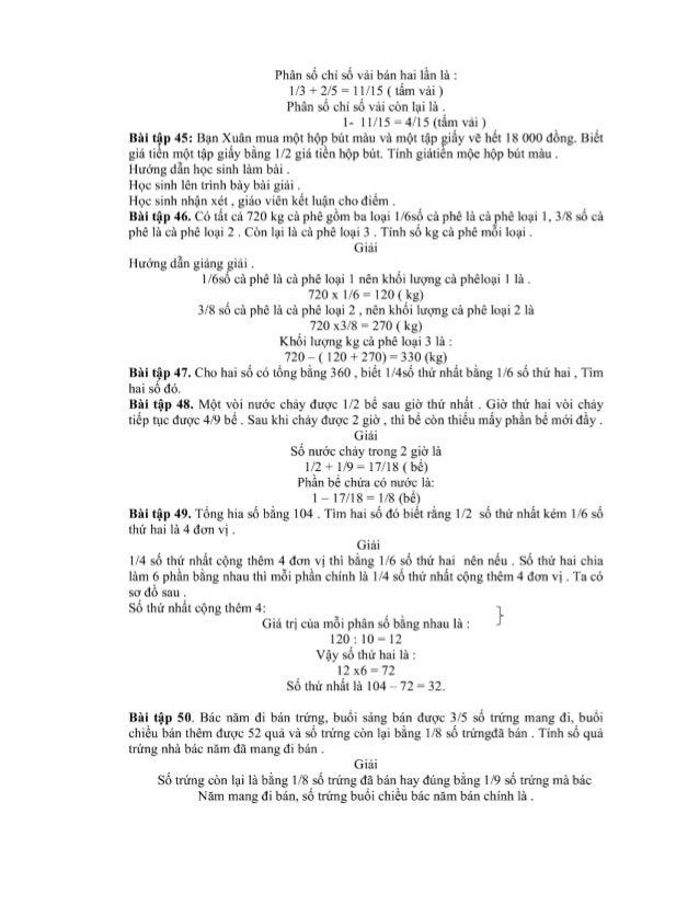Phân số chỉ số vải bản hai lằn là : 1/3 + 2/5 = 11/15 (tấm vải) Phân số chi Sổ vái còn lại là . 1- 11/15 = 4/15 (tẩm vải) ...