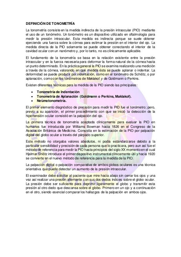 c7cf9a7007 ... 2. DEFINICIÓN DE TONOMETRÍA ...
