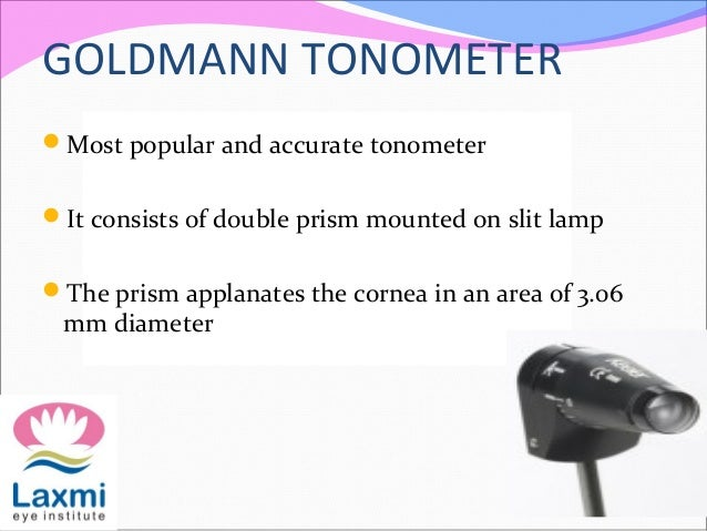 Tonometry