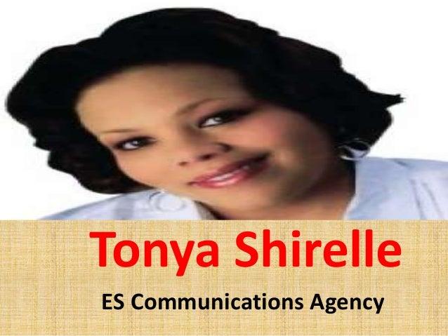 Tonya Shirelle ES Communications Agency