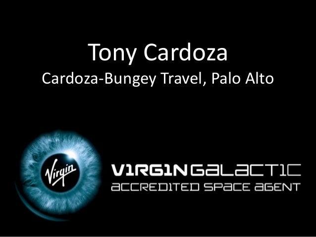 Tony Cardoza Cardoza-Bungey Travel, Palo Alto