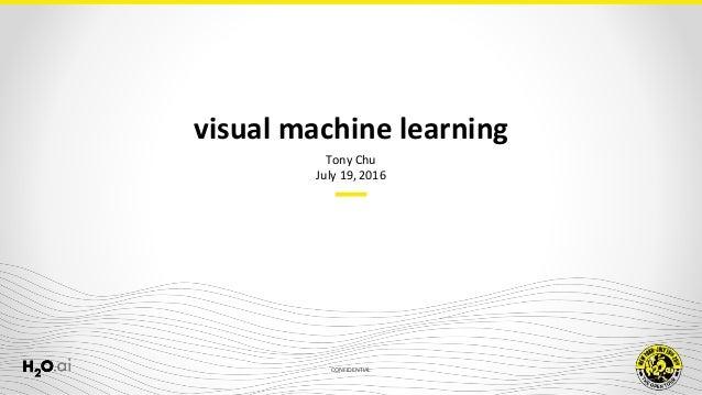 CONFIDENTIAL Tony Chu July 19, 2016 visual machine learning