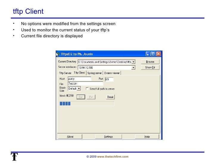 OSTU: tftpd32 for Windows (by Tony Fortunato & Peter Ciuffreda)