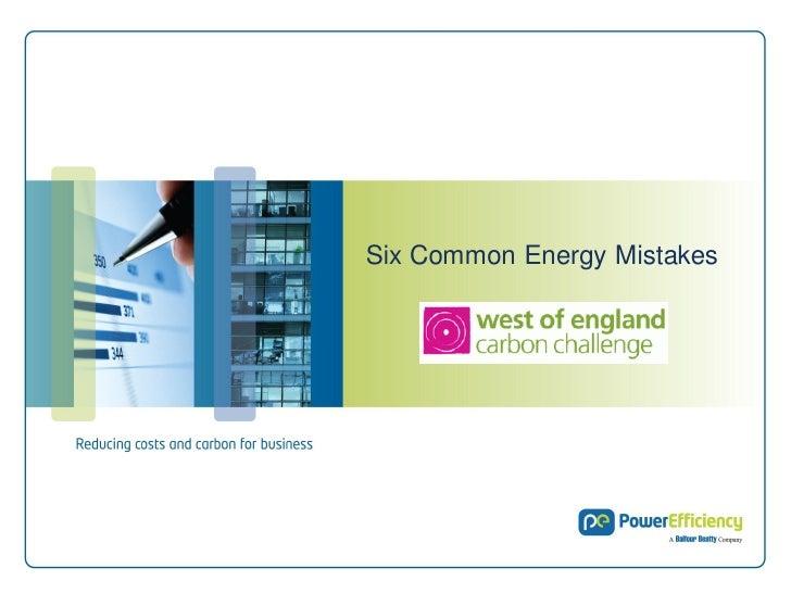 1Six Common Energy Mistakes