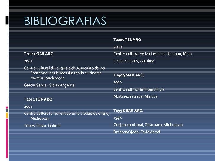 BIBLIOGRAFIAS