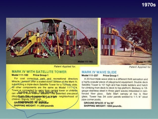 1970s   Game  Time.  The  Mark  IV   Satellite  tower  is  just  an   explosion  of  color.  ...