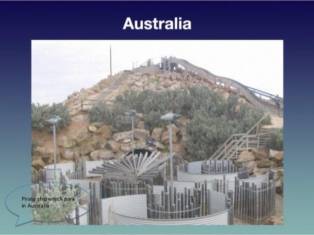 Pirate  shipwreck  park   in  Australia
