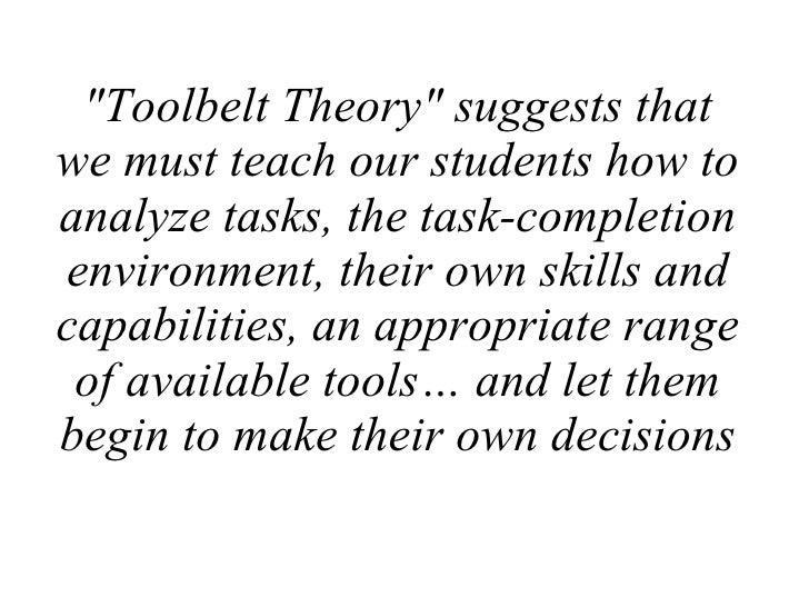 Toolbelt Theory Slide 2