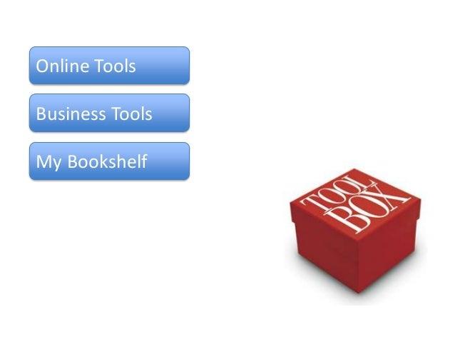 Online ToolsBusiness ToolsMy Bookshelf