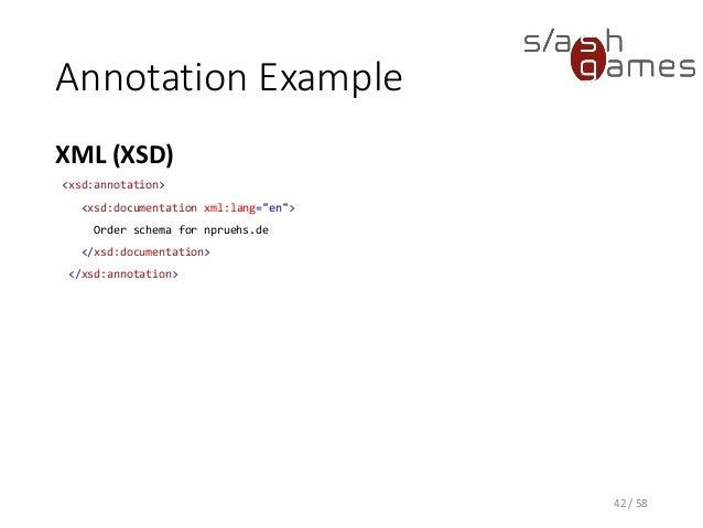 Tool Development 05 - XML Schema, INI, JSON, YAML