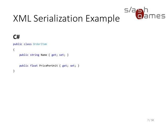 Tool Development 05 Xml Schema Ini Json Yaml