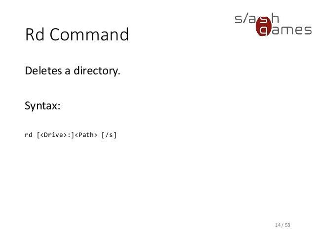 Tool Development 08 Windows Command Prompt