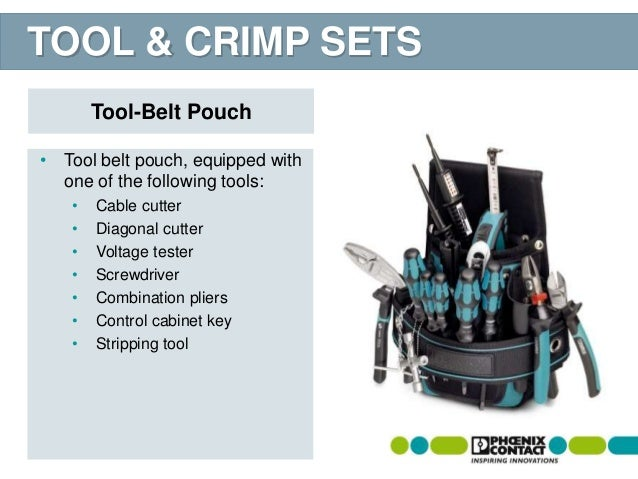 TOOL fox hand tools from Phoenix Contact