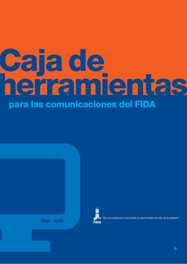 para las comunicaciones del FIDA                                   I