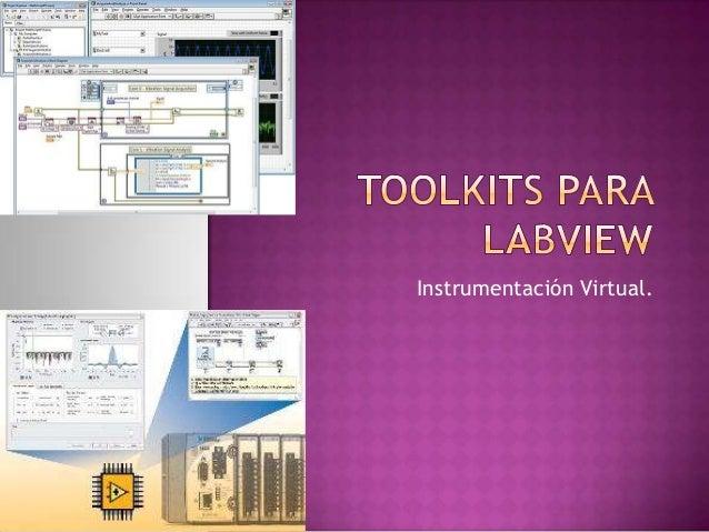 Instrumentación Virtual.