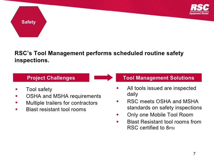 Tool Management Power Industry 04262010