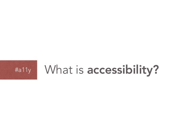 Tools And Techniques For Evaluating Accessibility Slide 2