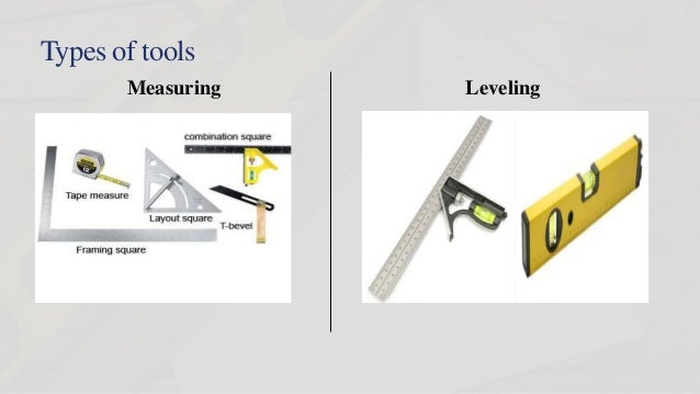 Types Of Tools Measuring Leveling ...