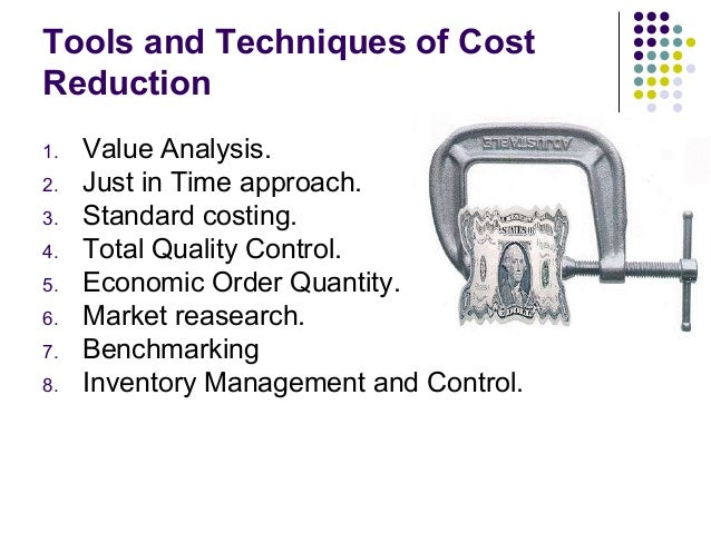techniques to improve the quality and reduce cost in production of software 7 sensible steps to improve software quality which is why their nuggets of wisdom aim to minimize the potential costs and pain impact on quality: reduce.