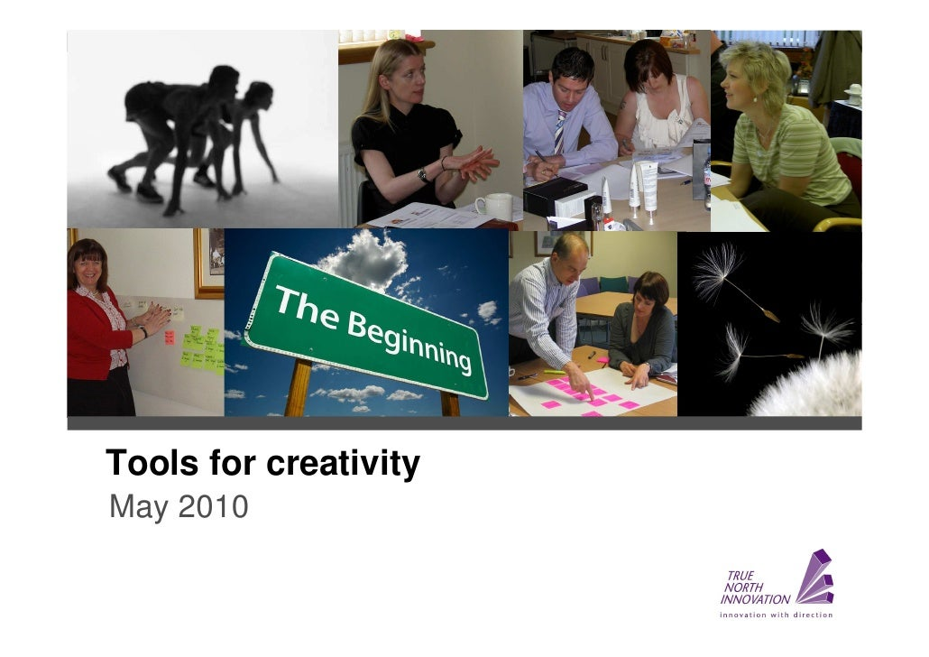 Tools for creativity May 2010