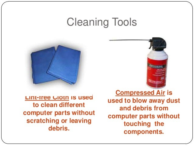 Cleaning Tools In Computer Hardware Servicing
