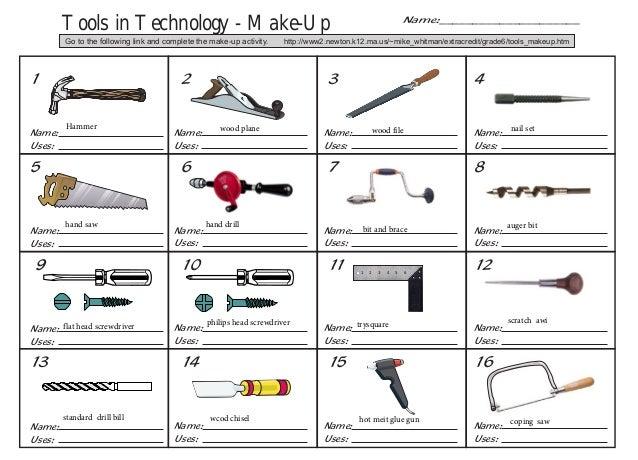 Tools makeup