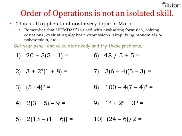 Collections of Algebra Order Of Operations, - Valentine Love Quotes