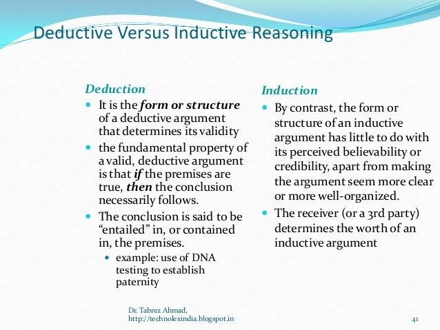 Inductive And Deductive Reasoning Venn Diagram Basic Guide Wiring