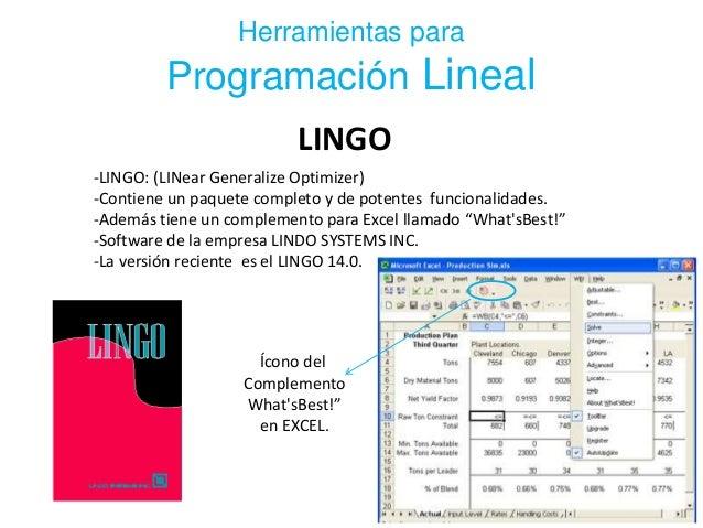 Programacion Lineal Entera - SlideShare