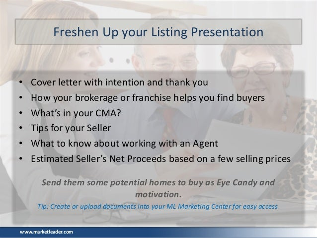 tools to impress sellers and win listings